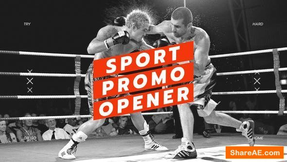 Videohive Sport Opener / Fitness and Workout / Event Promo / Dynamic Typography