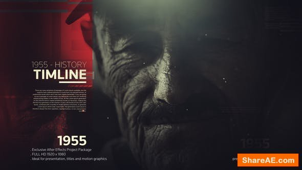 Videohive The History Timeline 22279631