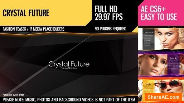 Videohive Crystal Future