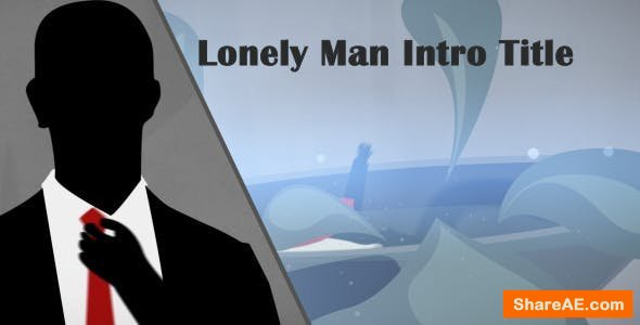 Videohive Lonely Man Intro Title