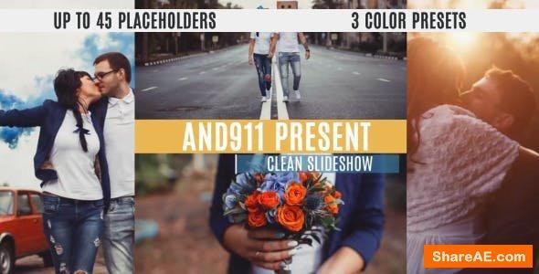Videohive Clean Slideshow 10443626