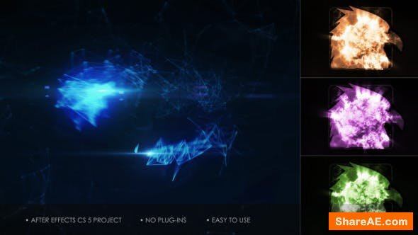 Videohive Organic Streams - Logo Reveal