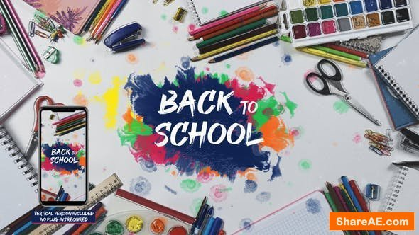 Videohive School Stop Motion