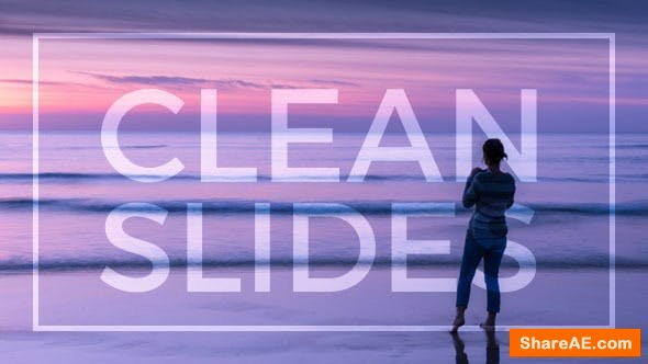 Videohive Clean Slides