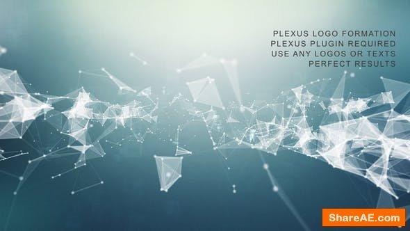 Videohive Plexus Logo Formation
