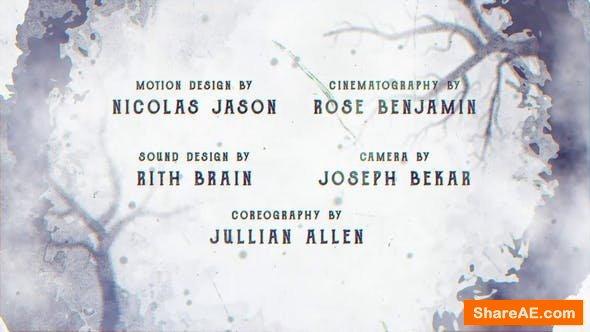 Videohive Cine Credit V.4