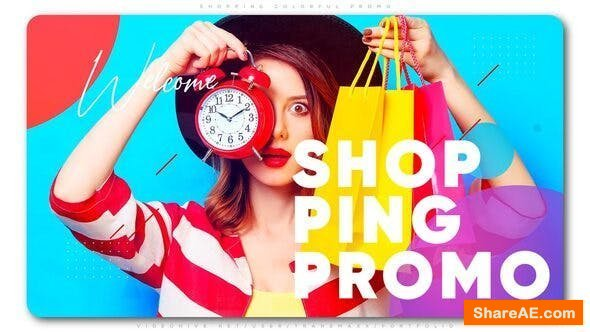 Videohive Shopping Colorful Promo