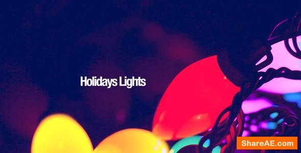 Videohive Holiday Lights