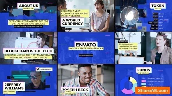 Videohive Blockchain Startup Overview