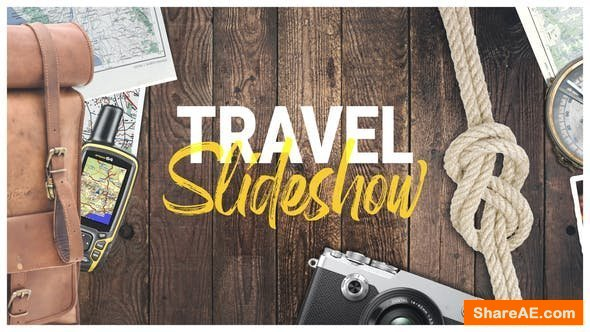 Videohive Photo Gallery - Travel Slideshow
