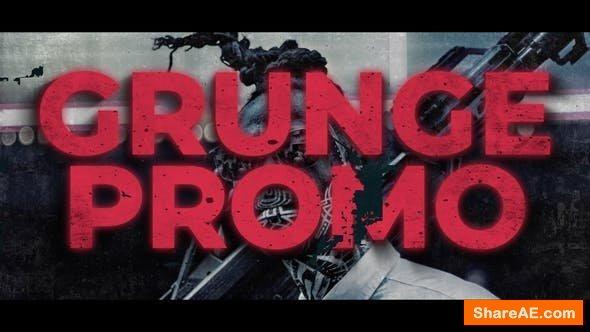 Videohive Grunge Neon Promo