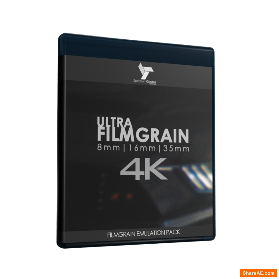 ULTRA-FILMGRAIN 4K PROFESSIONAL ORGANIC ANALOGUE FILM LOOK 8MM | 16MM | 35MM - Spectrum Grades