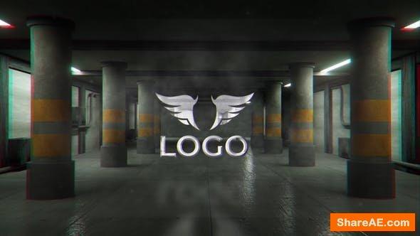 Videohive Garage Logo reveal