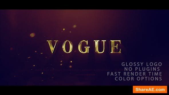 Videohive Vogue Logo Reveal