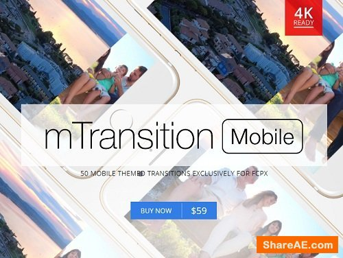 mTransition Mobile for Final Cut Pro X  - MotionVFX