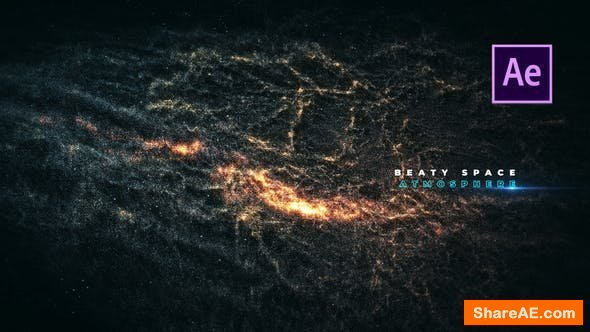 Videohive PhotoRealistic Galaxy Titles