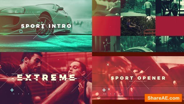 Videohive Sport intro 21682928
