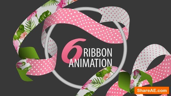 Videohive Ribbon Animation