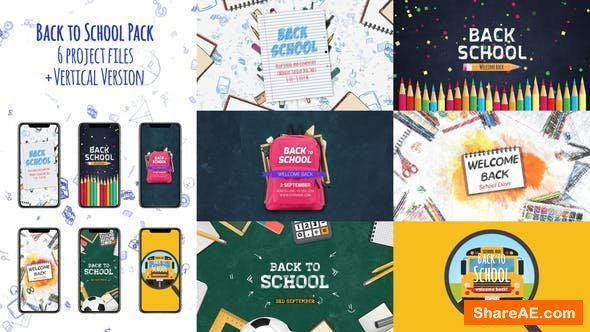 Videohive Back to School Package