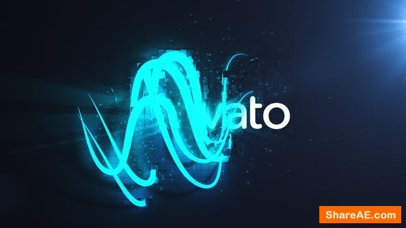 Videohive Magic Lights Logo Reveal