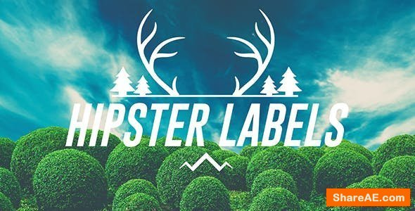 Videohive Hipster Labels