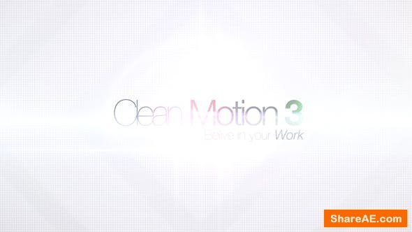 Videohive Clean Motion 3
