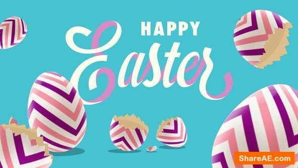 Videohive Happy Easter Egg
