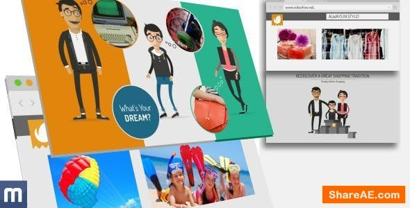 Videohive Family Shopping - Online Shop Promo