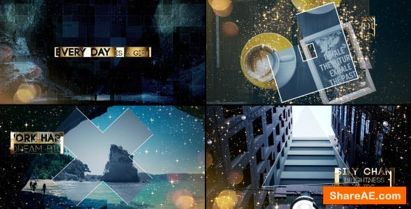 Videohive Gold & Silver Slideshow