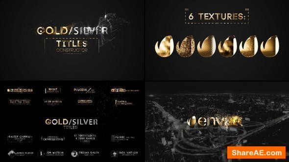 Videohive Titles Constructor