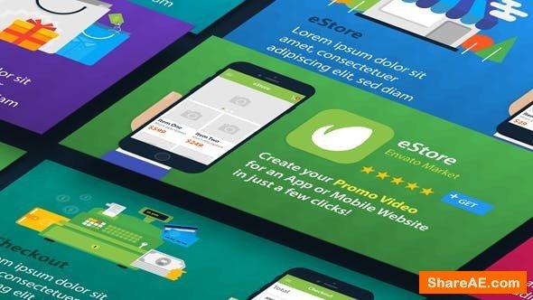 Videohive eStore - Mobile App Promo