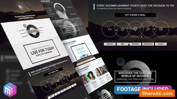 Videohive The Corporate - Modern Style Business Presentation