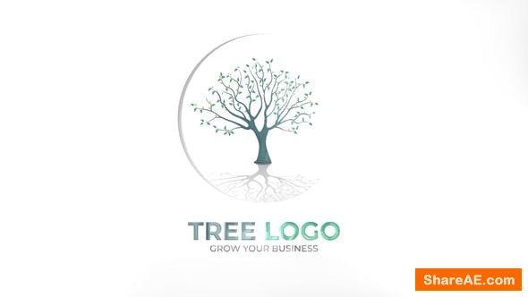 Videohive Tree Logo