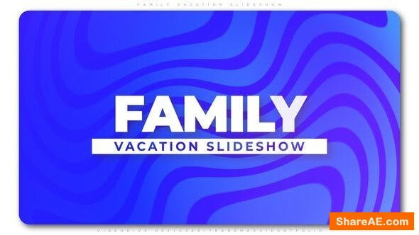 Videohive Family Vacation Slideshow