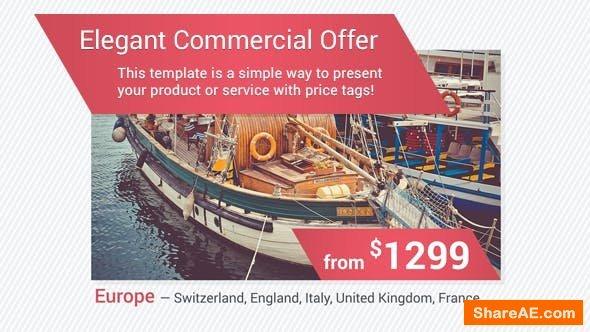Videohive Elegant Commercial Offer
