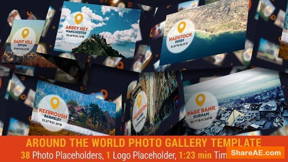 Videohive Around The World Photo Gallery