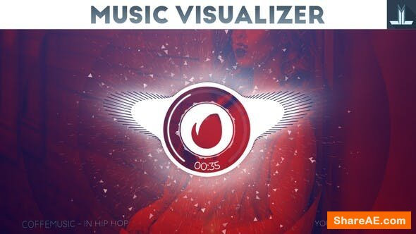 Videohive Audio React Parallax Music Visualizer