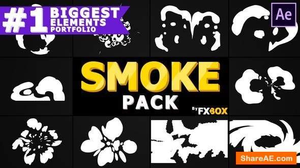Videohive Hand-Drawn Cartoon Smoke | After Effects