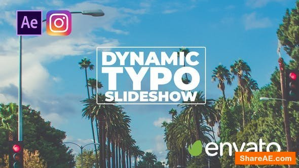 Videohive Dynamic Typo Slideshow