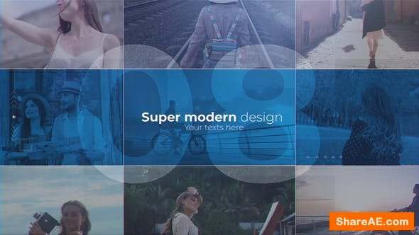 Videohive Travel Timeline