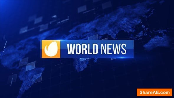 Videohive World News Package
