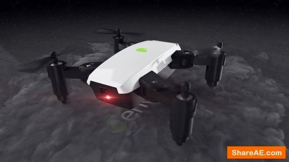 Videohive Quadcopter Drone Logo