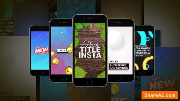 Videohive Instagram Elements