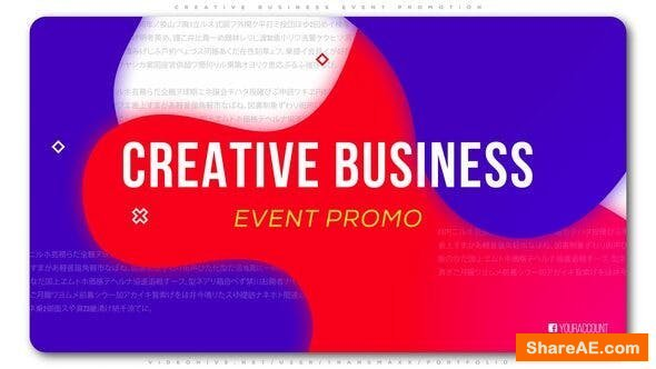 Videohive Creative Business Event Promotion