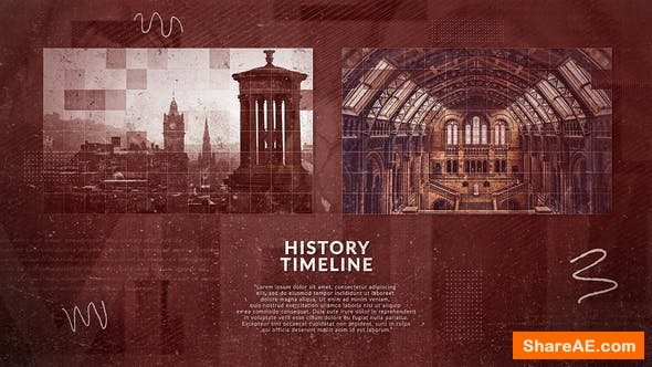 Videohive History Slideshow 24569535