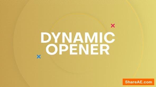 Videohive Dynamic Opener 24551637