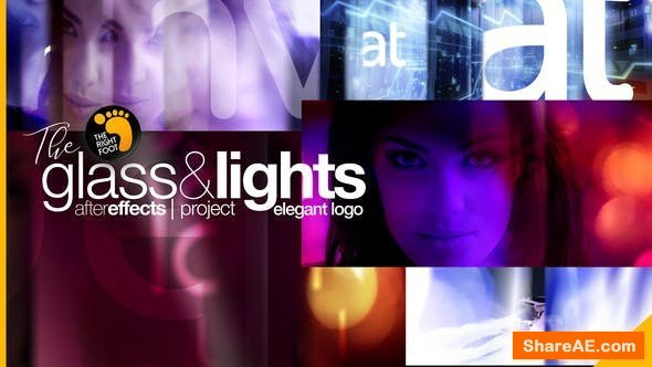 Videohive Glass & Lights Elegant Logo