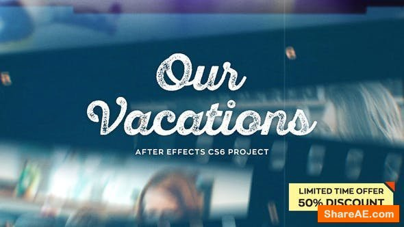 Videohive Our Vacations