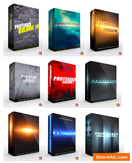 PROTSER Vol. 1-10 Plugins for Final Cut Pro X - Pixel Fim Stuios