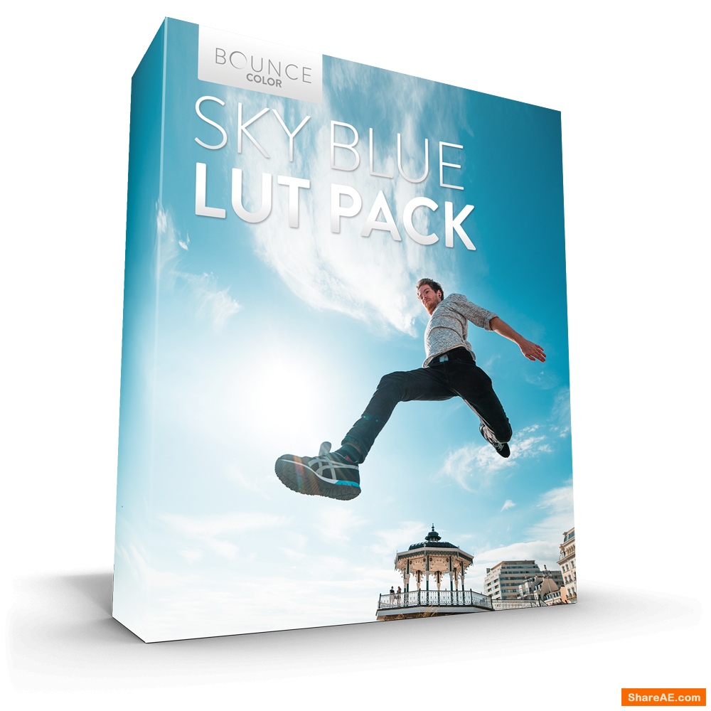 SKY BLE LUT Pack / All Cameras for Premiere - Bounce Color